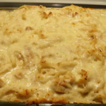 It's Recipe Wednesday: Creamy Baked Chicken Fettucine w/ Alfredo Sauce!