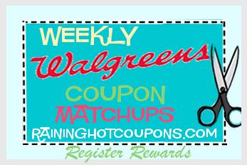 Walgreens Deals 5 29 6 4 Coupon Matchups List