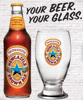 Amazon Brown Ale Glass