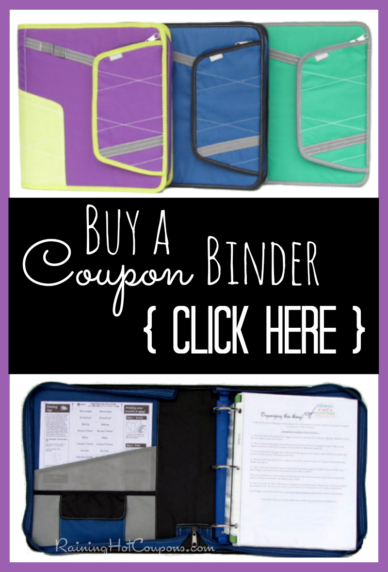BINDER Buy A FULLY Loaded Coupon Binder!