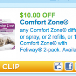 $10.00 off ANY Comfort Zone Diffuser or Spray Coupon