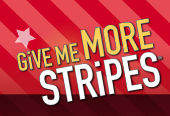 T G I  Friday's Give Me More Stripes Club = FREE Appetizer or