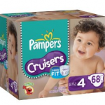 Amazon: Pampers Cruisers Size 4 (68-count) ONLY $10.59 Shipped!