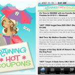 *HOT* It's Here! Raining Hot Coupons FREE Mobile APP for iPhone & Android!