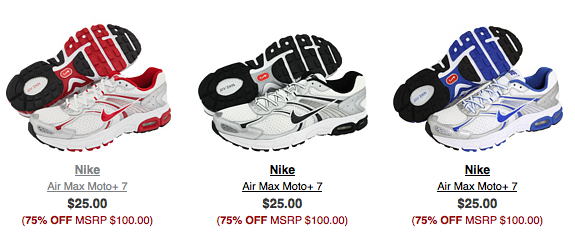 later release date get online Men's Nike Moto +7 Shoes
