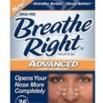 FREE Sample of BreatheRight Advanced Nasal Strips + Coupon (New Offer)