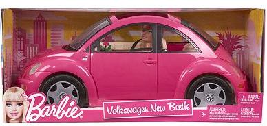 mattel barbie volkswagen beetle