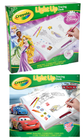 Walmart Crayola Disney Cars 2 Or Princess Light Up