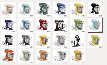 kitchenaid artisan 5qt mixer only $144 shipped (reg. $449.99