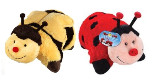 Screen shot 2011 11 24 at 9.26.14 AM Amazon: Original My Pillow Pets Only $10.39 Shipped (Ladybug, Bumble Bee, Unicorn!)