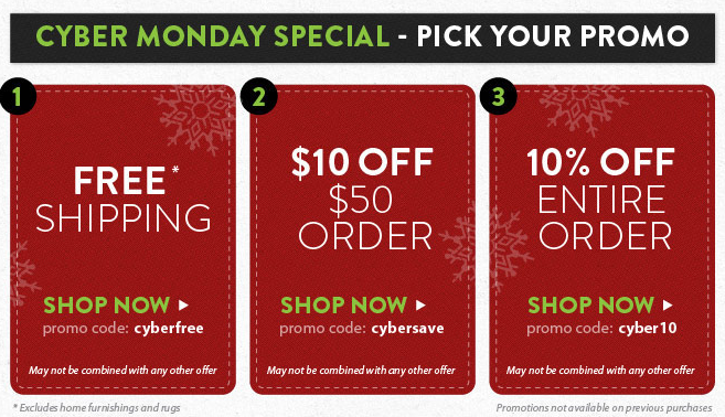 Amazon Cyber Monday Promotional Code