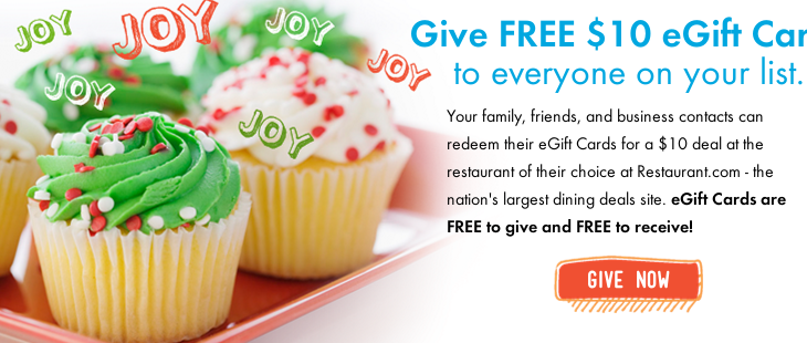 feed it forward Feed It Forward – FREE $10 Restaurant.com Gift Certificates!