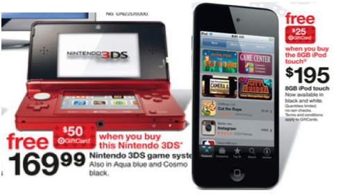 Coupons for ipods at target