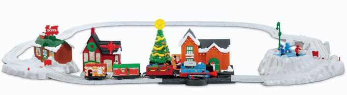 Amazon: Thomas the Train TrackMaster Thomas Christmas Delivery ...