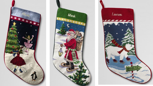 Lands End Christmas Stockings Needlepoint - Find out all you need for the festive season in our Christmas shop, we offer perfect gifts for everyone on your Christmas present list. Lands End Christmas Stockings Needlepoint. Before buying one, there are some tips you can follow to meet your goal to not only promote your business, but also to.