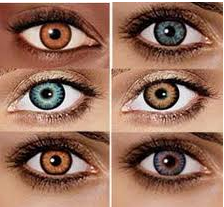 FREE 1 Month Trial Pair of Contact Lenses Colored or Normal Lenses