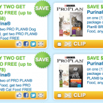 *HOT* High Value New $5/1 & Buy 2 Get 2 FREE Purina Pro Plan Cat & Dog Food Coupons!