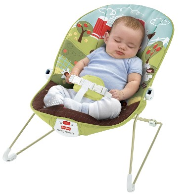 Screen shot 2012 01 05 at 7.32.15 AM Target: Fisher Price CUTE Baby Bouncer Only $17.99 + FREE Shipping (Reg. $31.99!)