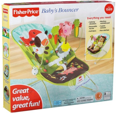 Screen shot 2012 01 05 at 7.35.58 AM Target: Fisher Price CUTE Baby Bouncer Only $17.99 + FREE Shipping (Reg. $31.99!)