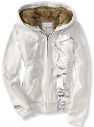 HOT* Aeropostale Faux Fur Hoodie Only $20.99 Shipped (Reg. $89.50