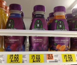 Screen shot 2012 01 19 at 3.44.36 PM Coupon RESET! Sambazon Organic Superfood Juice or Smoothie Only $0.68!