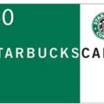 Flash Giveaway!! $50 Starbucks eGift Card! Winner Chosen Today
