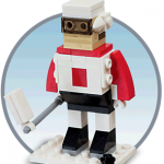 FREE Lego Hockey Player Model (Kids Build At Store)