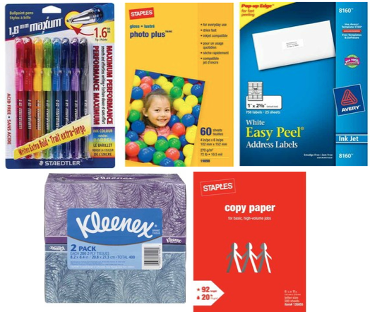 Screen shot 2012 02 19 at 11.11.35 AM Staples: FREE Paper, Pens, Kleenex, Labels (After Easy Rebate)!