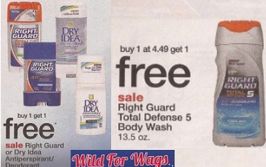 Screen shot 2012 02 23 at 6.34.43 PM *HOT* Walgreens: LOTS of FREE Right Guard Deodorant & Body Wash + Make Money!