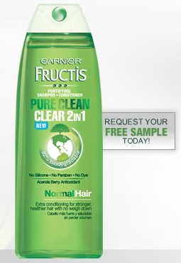 Screen shot 2012 03 05 at 5.23.36 PM FREE Sample of Garnier Pure Clean 2 in 1 Shampoo