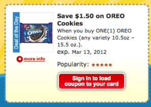 Screen shot 2012 03 06 at 8.10.31 AM Kroger & Affiliate Stores: $1.50 off ANY One OREO Cookies Coupon!