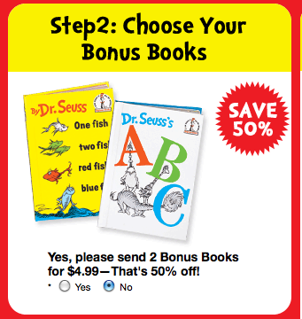 Screen shot 2012 03 07 at 9.41.03 PM *HOT!* Dr. Seuss 5 Books + a Backpack Only $5.95 + FREE Shipping!