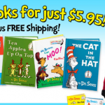 *HOT!* Dr. Seuss 5 Books + a Backpack Only $5.95 + FREE Shipping!