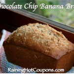 Delicious Chocolate Chip Banana Bread Recipe!