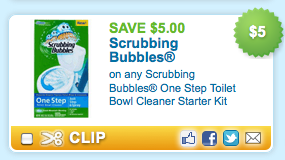 Screen shot 2012 04 09 at 9.19.42 PM *HOT* New $5/1 Scrubbing Bubbles Toilet Cleaner Coupon + More = FREE!