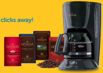 Screen shot 2012 04 26 at 11.29.37 AM *HOT!* Gevalia Classic Coffeemaker + 4 Boxes of Gourmet Coffee ONLY $9.99 Shipped!