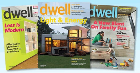 Free 1 year subscription to dwell interior design magazine for Free interior design magazine subscriptions