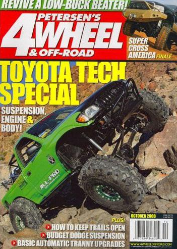 free 1 year subscription to 4 wheel off road magazine. Black Bedroom Furniture Sets. Home Design Ideas
