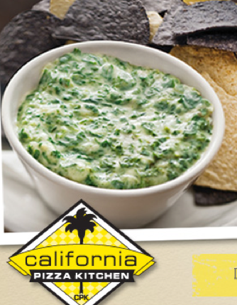 California Pizza Kitchen Recipes Spinach Artichoke Dip