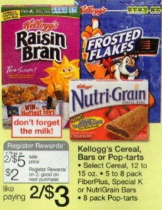 Screen shot 2012 05 08 at 3.15.37 PM *HOT* New $1/2 Kelloggs Nutri Grain Cereal Bars, FiberPlus + More Coupon = Only $1 a Box!