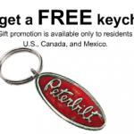 FREE Peterbilt Keychain!