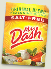 Screen shot 2012 05 11 at 4.54.19 PM FREE Sample Packet of Mrs. Dash Seasoning (First 20,000)