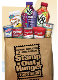 Stamp Out Hunger Food Drive Collection Day!