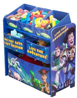 Hot Amazon Disney Pixar Cars Multi Bin Toy Organizer