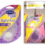 Target: Dr. Scholl's Ball of Foot Inserts Only $0.79 (Reg. $5.79!)