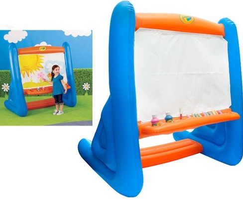 Screen shot 2012 05 22 at 6.07.08 PM Crayola 4.5 ft Giant Inflatable Easel w/ Sidewalk Chalk, Paint, & Giant Brush $19.99 + FREE Shipping (Reg. $65!)