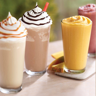 Burger King 12 Oz Smoothies Frappes ONLY 100