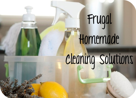 fru Frugal Homemade Cleaning Solution Recipes