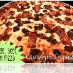 Sausage, Beef & Bacon Homemade Pizza Recipe
