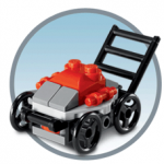 FREE Lego Lawn Mower Model (Kids Build At Store)